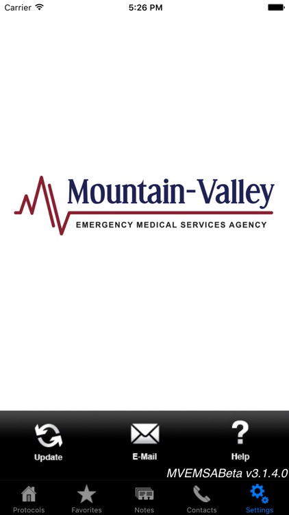 Mountain Valley EMS Agency screenshot-0
