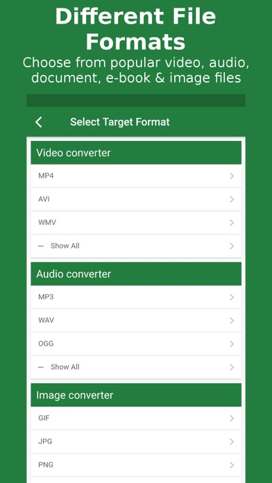 File Converter - By Online-Convert com by QaamGo Media GmbH (iOS