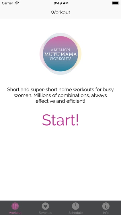 A Million MUTU Mama Workouts