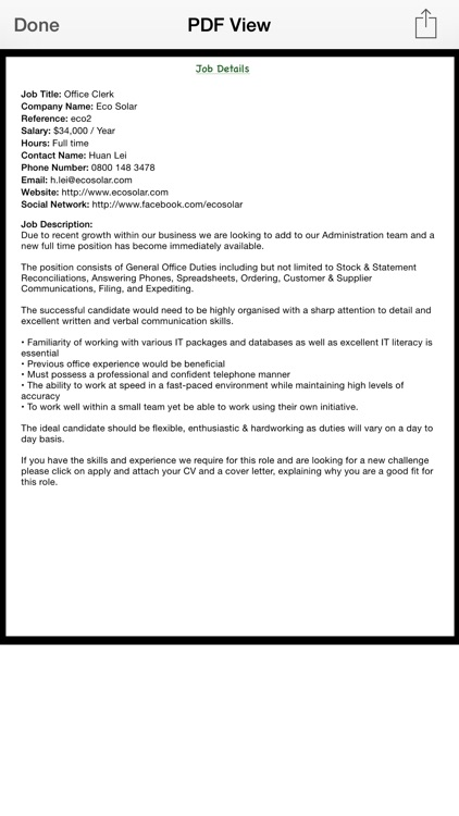 Job Details screenshot-5