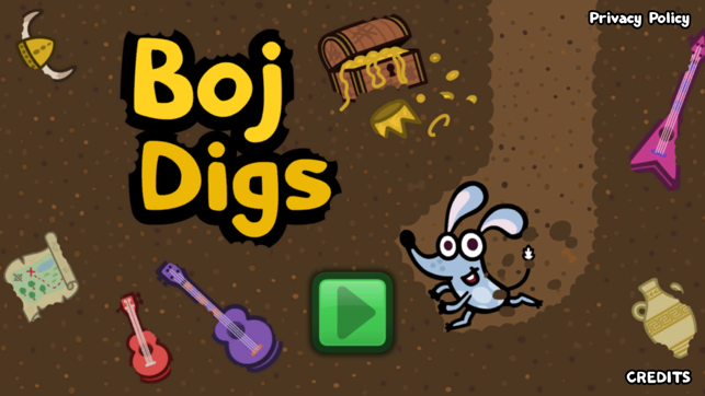 Boj Digs, game for IOS