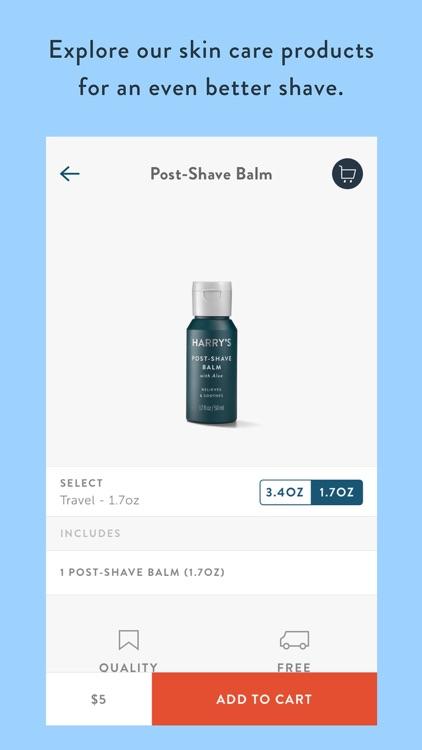 Harry's - Shaving & Grooming screenshot-3