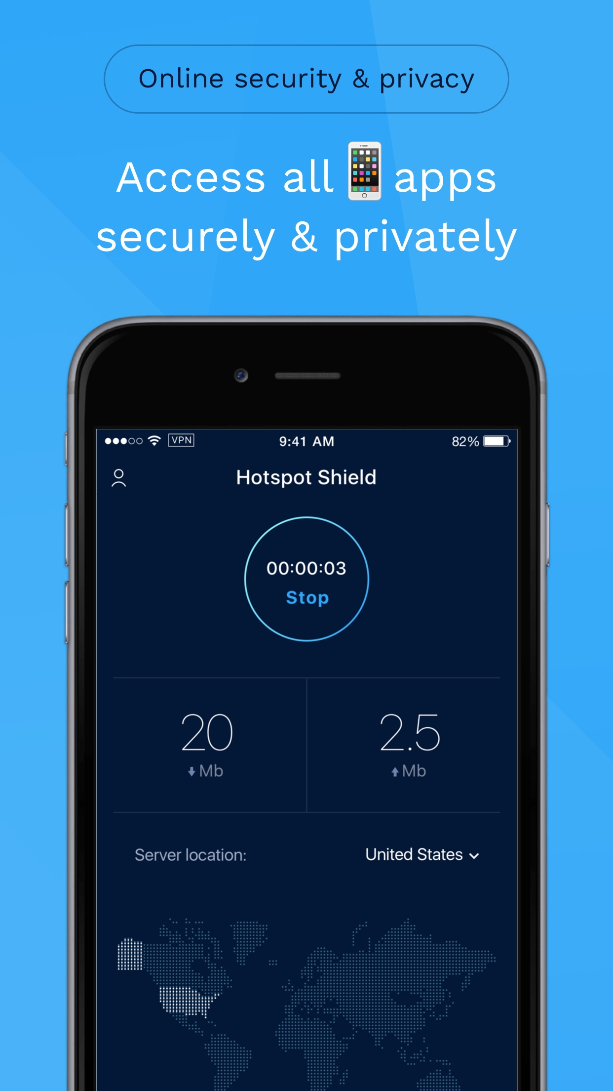 HotspotShield VPN & Wifi Proxy Screenshot