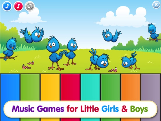 Piano Baby Games for Girls & Boys one year olds screenshot 6
