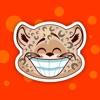 Cute Leopard Sticker Pack!