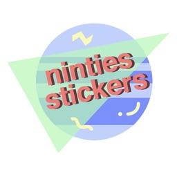 90s Theme Sticker Pack