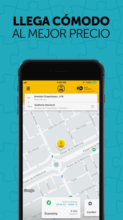 Yaxi Easy - App de transporte screenshot-1