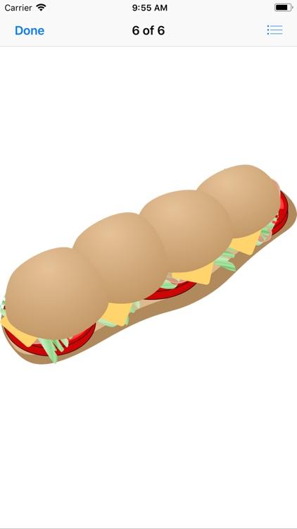 Scrumptious Sandwich Stickers screenshot-6
