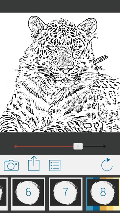 Screenshot #4 for Photo To Pencil Sketch Drawing