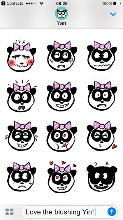 Panda Babies Stickers screenshot-2