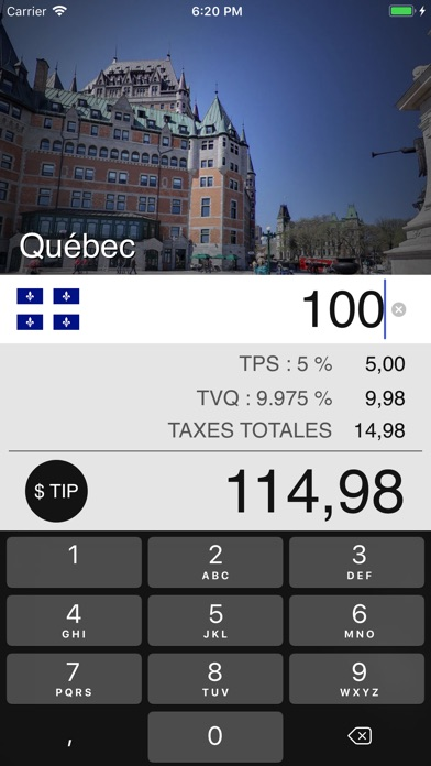 download Taxes de Vente au Canada apps 0