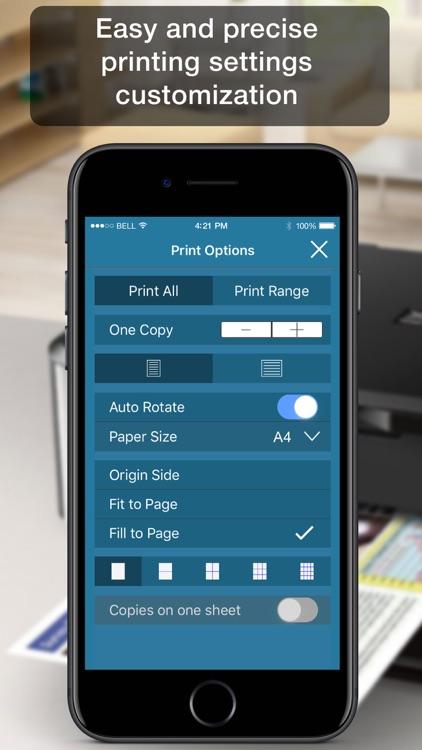 Printer App - print docs & pdf screenshot-3