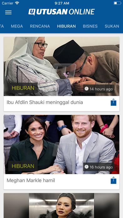 Utusan OnlineScreenshot of 7