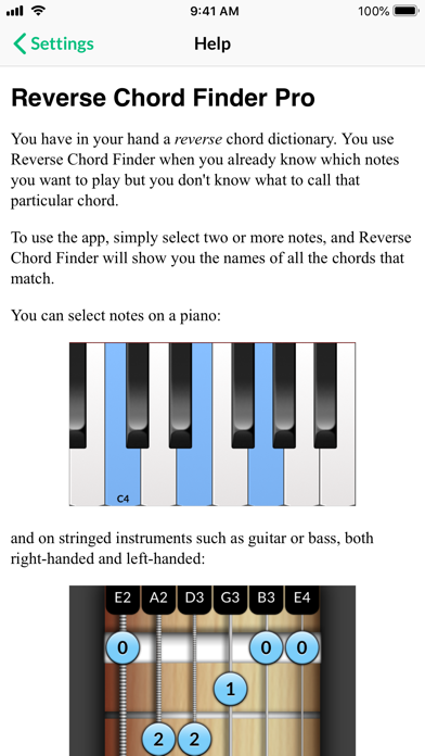 Reverse Chord Finder Pro by Ghostdust (iOS, United States
