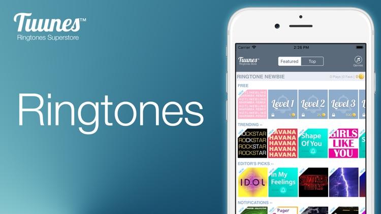 TUUNES™ Ringtones screenshot-6
