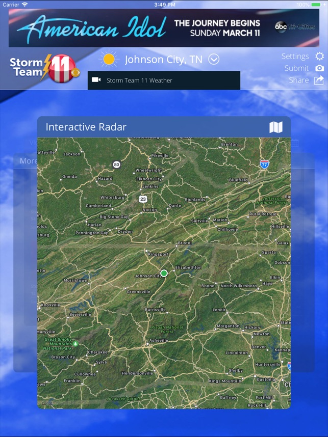 WJHL Weather App on the App Store