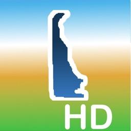 Aqua Map Delaware Lakes GPS HD