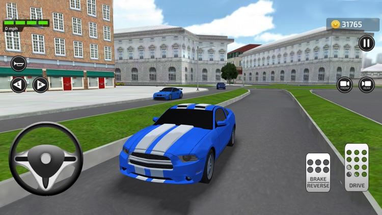 Driving Trump Car Simulator 3D
