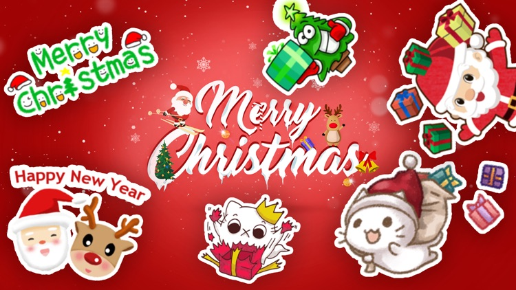 Merry Christmas Sticker Packs