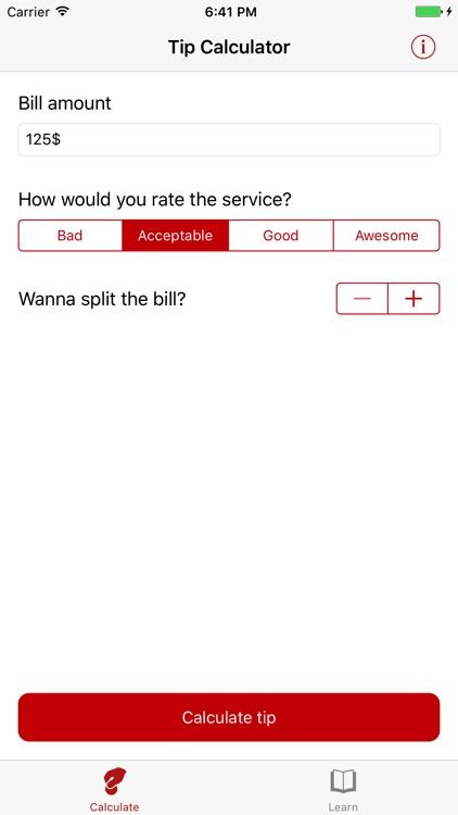 Tip Calculator (Ad-free)
