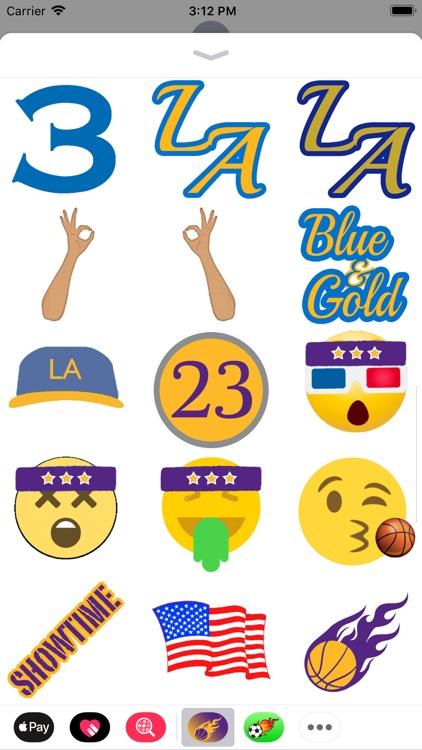 Los Angeles Basketball Pack screenshot-3