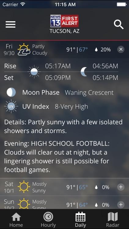 TucsonNewsNow First Alert screenshot-3