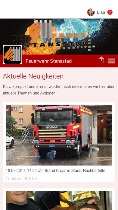 Feuerwehr Stansstad screenshot 1
