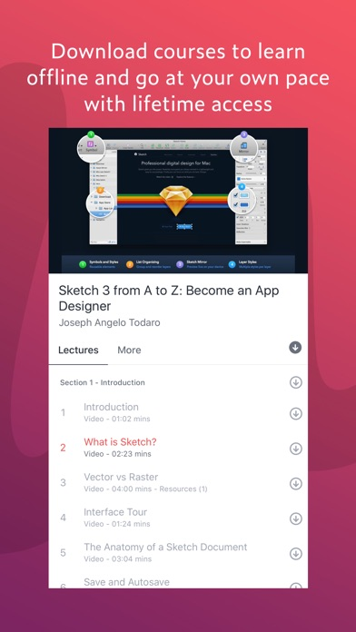 Udemy Online Courses app image