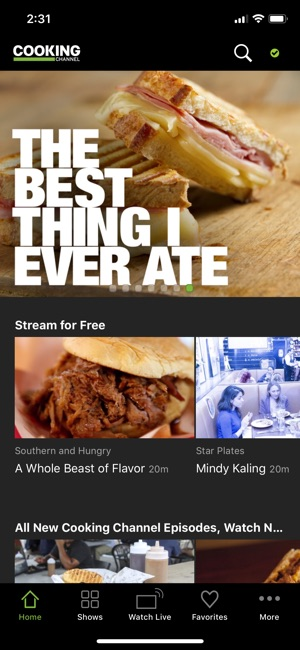 Cooking channel on the app store screenshots forumfinder Image collections