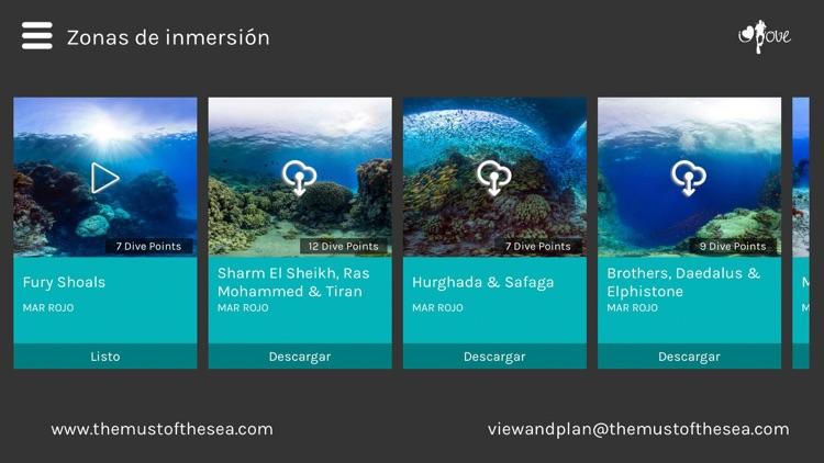 View & Plan - VR Scuba diving