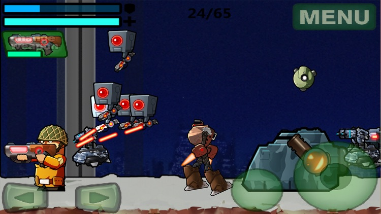 Metal Shooter : Run and Gun Target