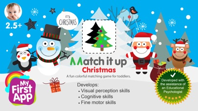 Match It Up - Christmas screenshot 1