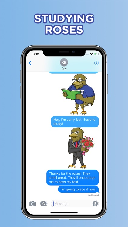 ORU Eagle Stickers screenshot-4