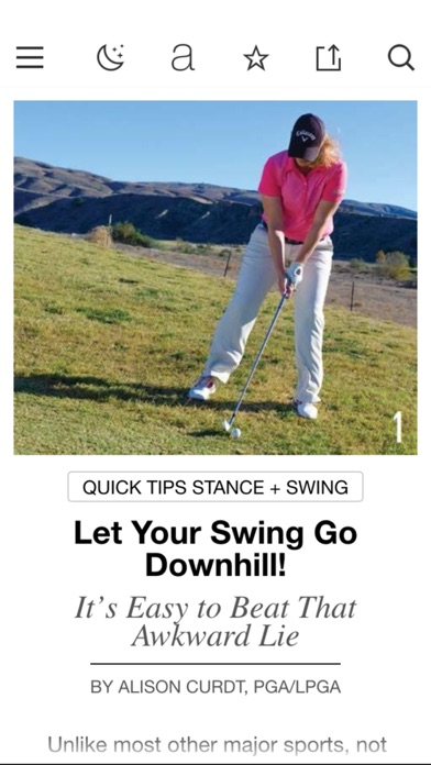 Screenshot for Golf Tips Magazine in United Arab Emirates App Store