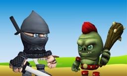 Ninja Escape 3D for TV