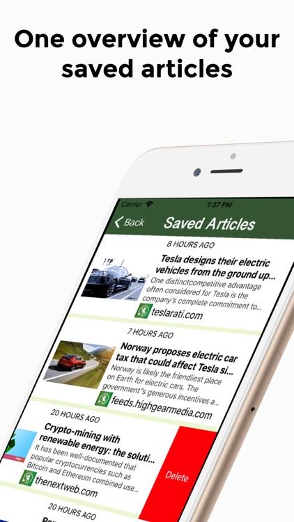 Sustainability News screenshot-4