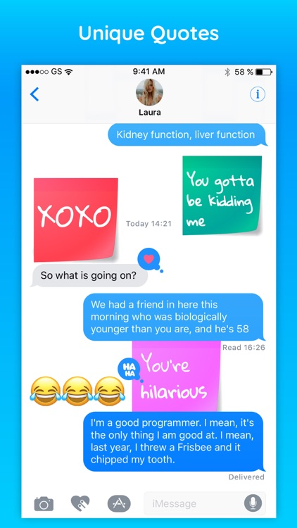 Sticky - Notes & Quotes Text Colorful Sticker Pack screenshot-3