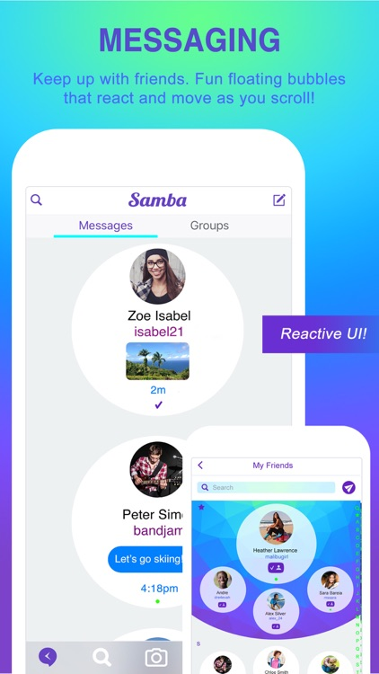 Samba Messenger screenshot-0