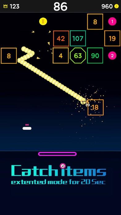 Snake Bricks-Bounce Balls screenshot 2