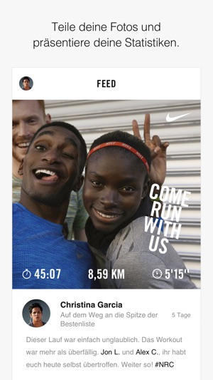 Nike Run Club Screenshot