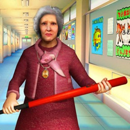 School Scary Teacher Granny