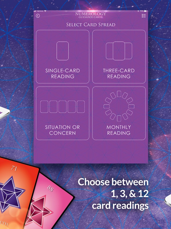 Numerology Guidance Cards screenshot 8
