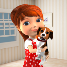 Anya Dress Up & Pet Puppies AR