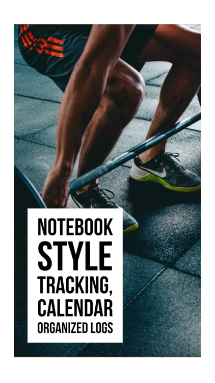 My Gym Log & Food Journal