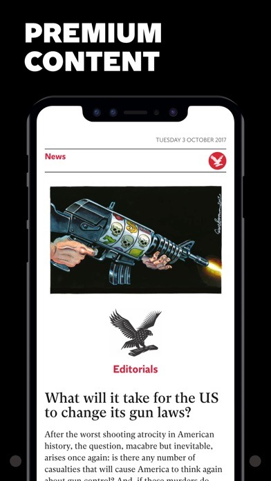 Screenshot for The Independent Daily Edition in United Arab Emirates App Store