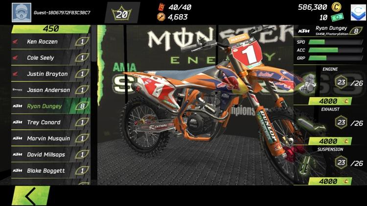 Monster Energy Supercross Game screenshot-4