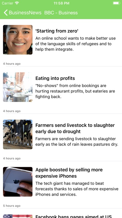 Business News Pro - RSS Feeder