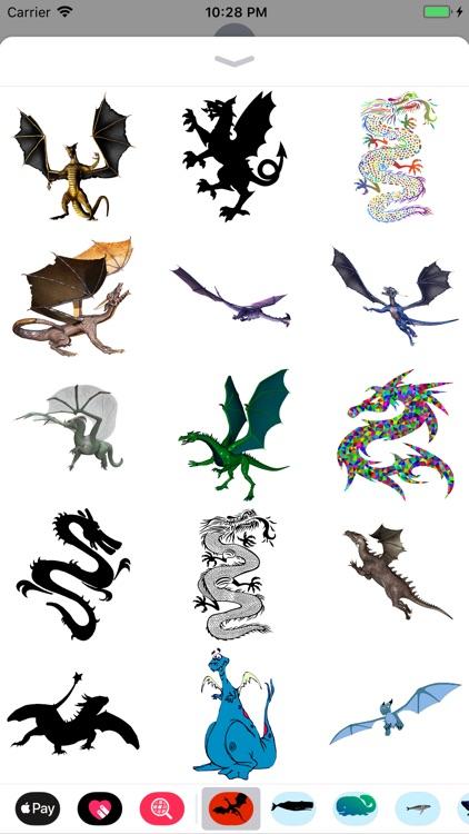 Dozens of Dragon Stickers screenshot-3