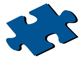 Frame your photos when sending a text message in a puzzle piece shape