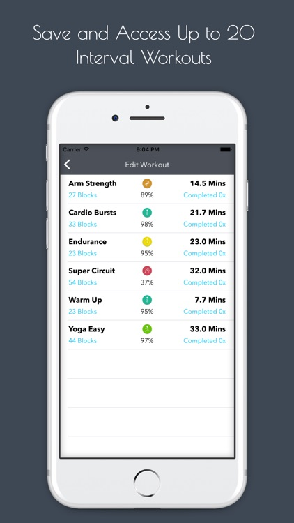 Flowfit Interval Workout Pro screenshot-2